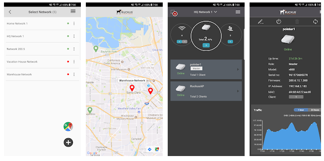 Ruckus Unleashed App screenshots